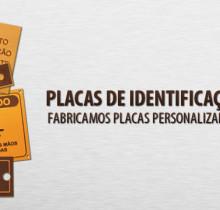 Placas de Identificação