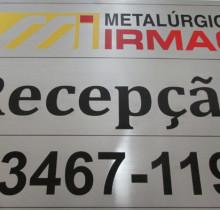 Placa de Identificação / Comunicação Visual
