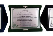 Placas de homenagem em Inox 